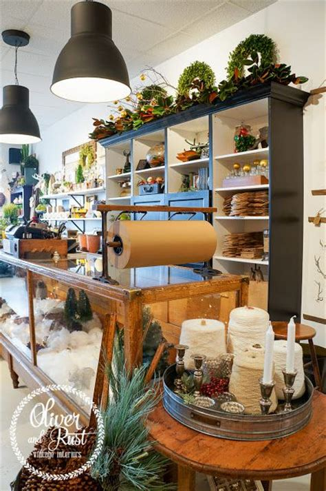 decorating gift shop woodland christmas display case and display on pinterest