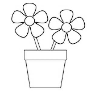Flower Template For Coloring by 10 Best Images About Simple Coloring Pages On