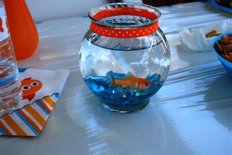 Fish Themed Baby Shower by Goldfish Theme Baby Shower Project Nursery