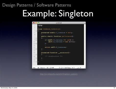 software design pattern singleton software engineering in php