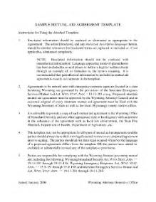 Mutual Agreement Contract Template Mutual Aid Agreement Template Fill Online Printable
