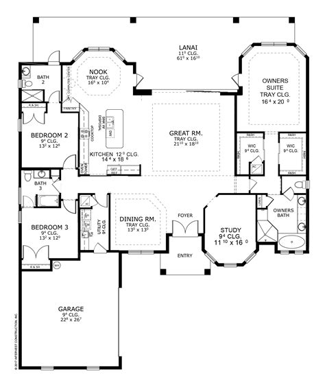 ici homes floor plans 2017 flagler parade of homes l the egret ii by ici homes
