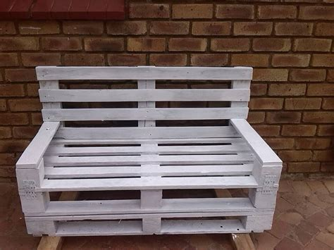 making a garden bench from pallets 6 diy creative things made from pallets 101 pallet ideas