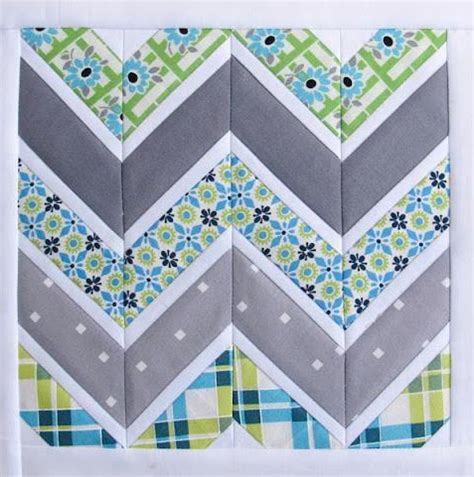 Free Chevron Quilt Pattern by Free Quilting Pattern Friday Chevron Quilt Pattern More