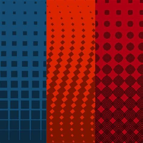 color halftone pattern gradients 01 products red and patterns