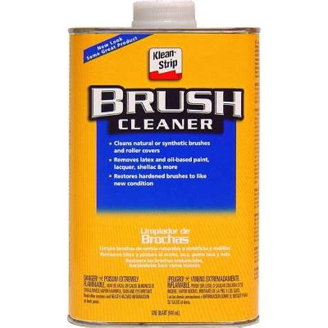 home depot paint brush cleaner klean 1 qt roller and brush cleaner qbc12 the