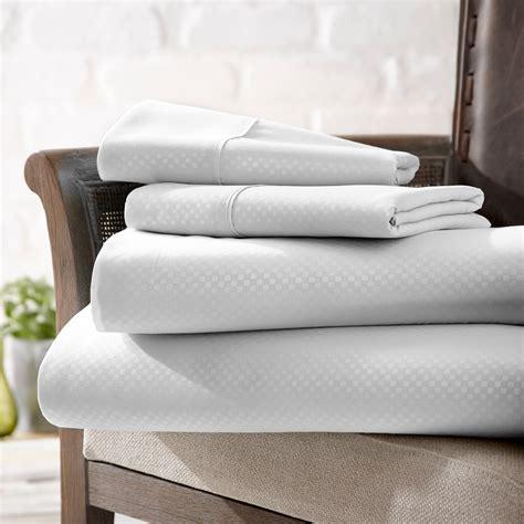checkered futon urban loft luxury soft checkered bed sheets 4 piece
