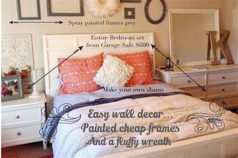 master bedroom reveal garage sale  thrift store furniture  style sisters