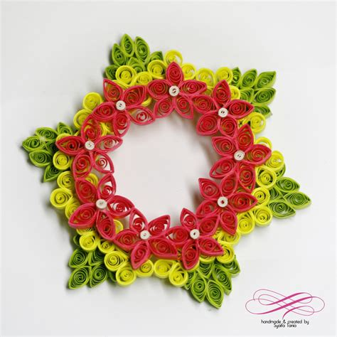 Paper Quilling - paper quilling by syaifa tania