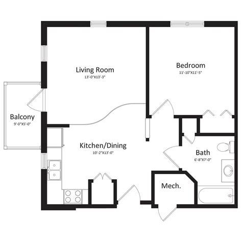 1 bedroom house floor plans floor plans the east apartments