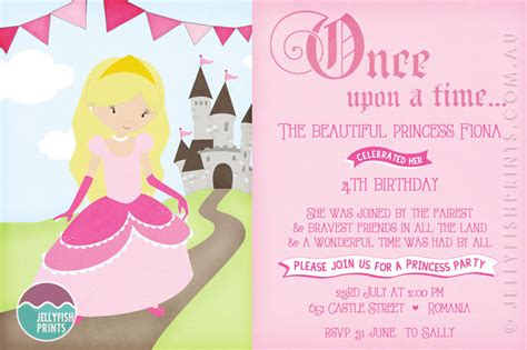 princess themed invitation template princess birthday invitations wording drevio