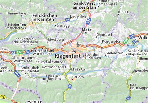 klagenfurt map map of klagenfurt michelin klagenfurt map viamichelin