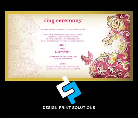 Wedding Card Design Company by Wedding Cards Designing And Printing Services Company In