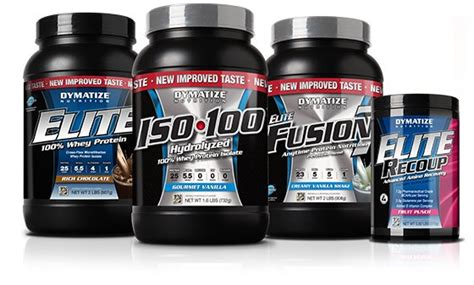 best products for bodybuilding bodybuilding supplement company of the month dymatize