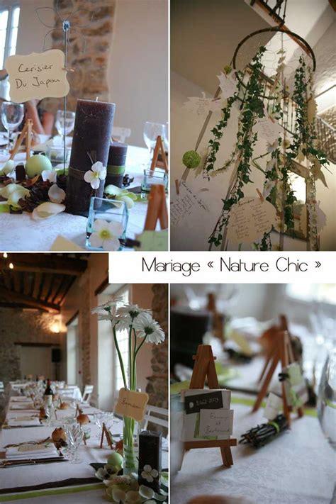 Décoration Mariage Naturelle by Deco De Table Mariage Theme Nature D Coration Mariage Et