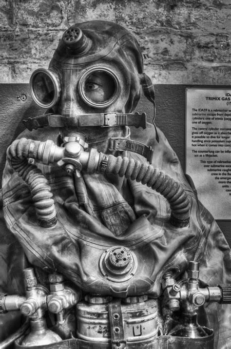 Vintage Russian Escape Suit, Diving Museum, Stokes Bay