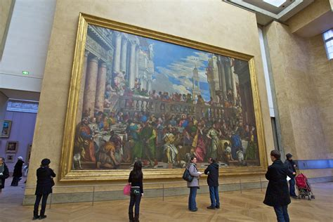 Wedding At Cana Painting In The Louvre by Wedding Feast At Cana Infinite Windows