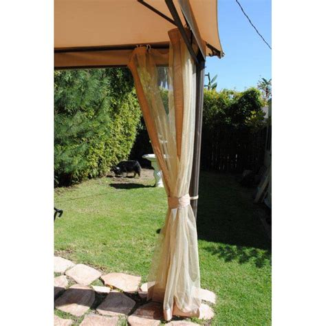 southern patio gazebo 10 x 10 southern patio gazebo gaz 434769 replacement canopy and netting garden winds