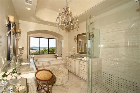 Luxury Master Bathroom by Hollow Lakeway Master Bath Elegance With View By