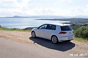 the new golf car testing the new volkswagen golf 7
