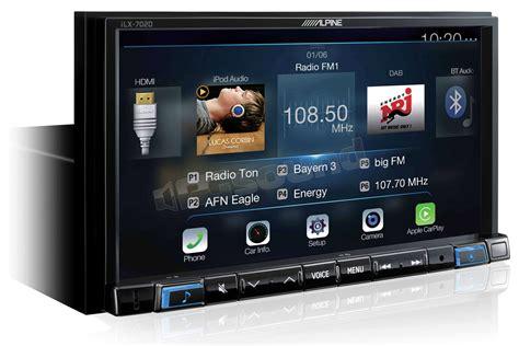 alpine ilx  apple car play  android auto monitor