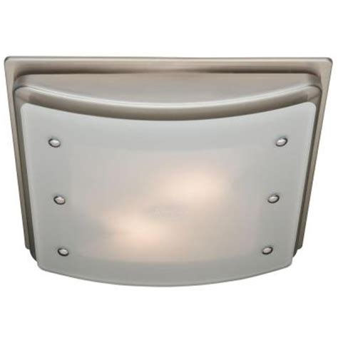 hunter bathroom exhaust fan with light hunter ellipse decorative 100 cfm ceiling exhaust fan with