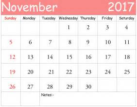 desktop calendar template november 2017 desktop calendar images free