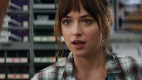 anas bush in 50 shades fifty shades of grey quot christian surprises ana at the