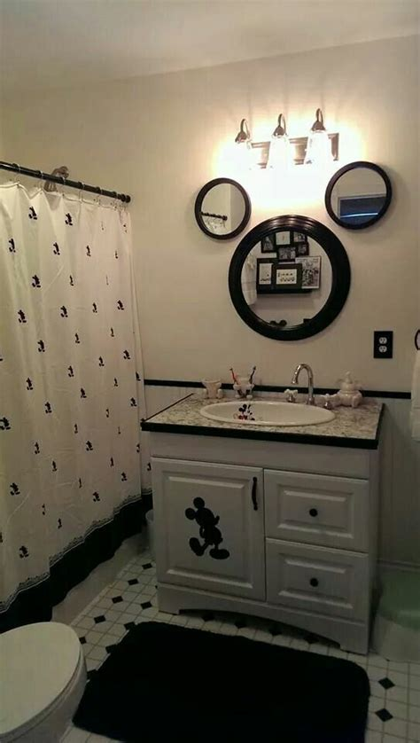 disney bathroom fun idea for a disney themed bathroom
