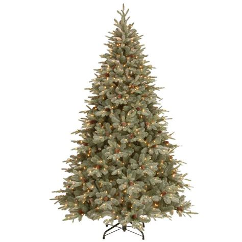 12 ft dunhill fir artificial tree with 1500 clear lights duh3 120lo s the home depot