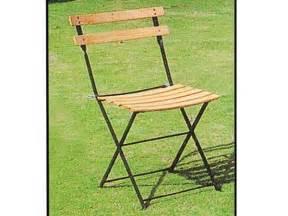 chaises pliantes bois chaise jardin pliante quot bistrot quot h 234 tre clair lot de 4