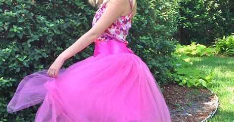 pink tulle skirt shabby apple sugar spice and sparkle