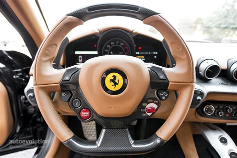 ferrari steering wheel ferrari f12 berlinetta review autoevolution