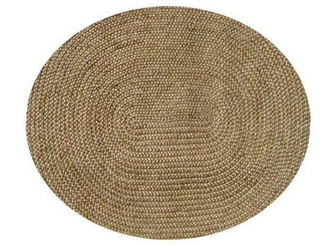 oval woven rug braided jute oval rug 4 6 x 6 free shipping today overstock 10441143