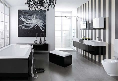 glamorous black  white bathroom ideas