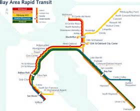 Bay Area Bart Map by File Revised Bart Map Svg