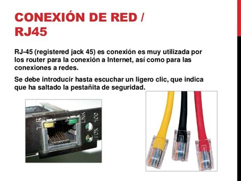 imagenes de jack rj45 puertos de la computadora