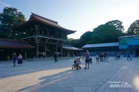 meiji jingu shrine kuil legendaris yang penuh ketenangan