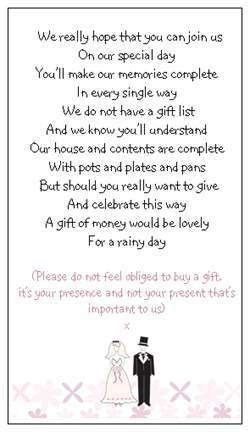 Wedding Invitation No Gifts Only by Wedding Invitation No Gifts Only Awesome Rsvp Card I