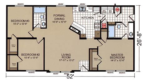 Champion Modular Home Floor Plans by Champion Double Wide Mobile Home Floor Plans