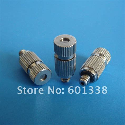 Sprayer Spray Nozzle Misting Anti Drip Anti Drain Valve high quality low pressure fog misting nozzle with