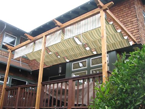 retractable awning for deck shade structures for patios acme sunshades retractable