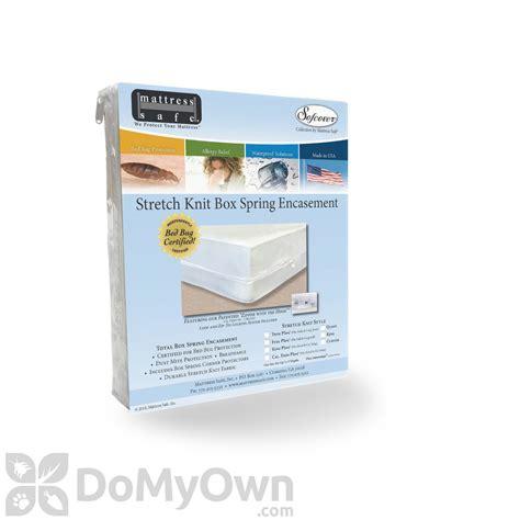 mattress safe s stretch knit box encasement