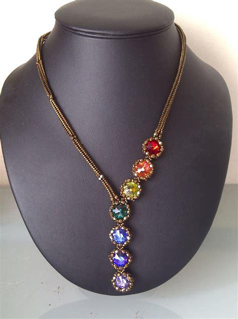 I Necklace damnedhalo s beading babble paula s chakra necklace