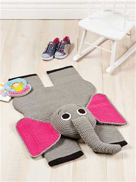 Elephant Kitchen Rug by Crochet Home Kitchen Rug Floor Covering Elephant Rug