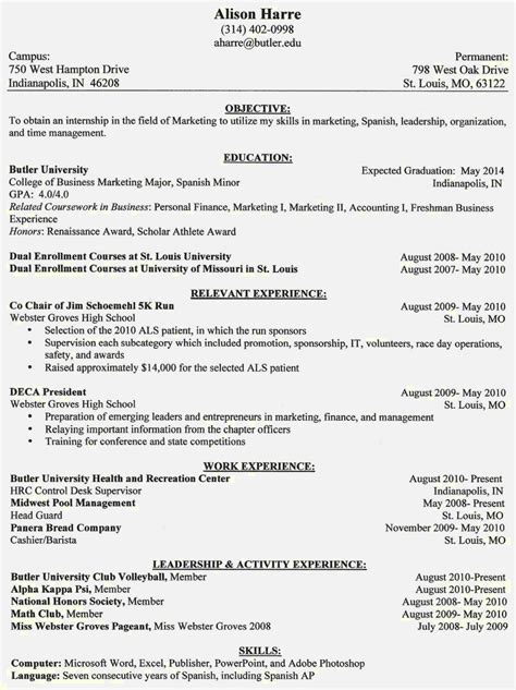 resume sle and format different styles of resumes resume template cover letter