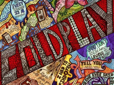 doodle 3 india this artist is using doodles of coldplay s lyrics to