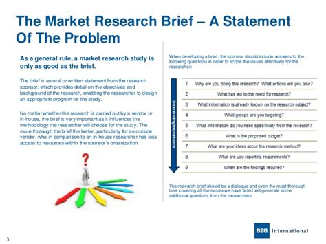 marketing research brief template a problem defined is a problem half solved a guide to