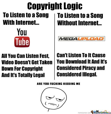 Copyright Meme - copyright logic by ruide meme center