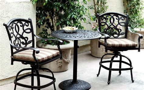 chic patio table sets outdoor decorations